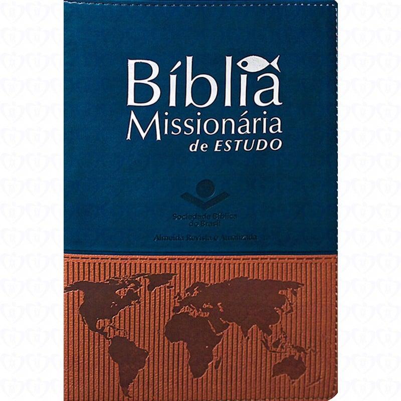 Capa-Bíblia Missionária de Estudo